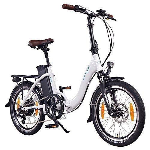 Bicicleta eléctrica plegable NCM Paris