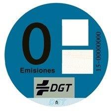 Etiqueta Azul Cero emisiones ambientales