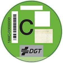 Etiqueta ambiental de la DGT